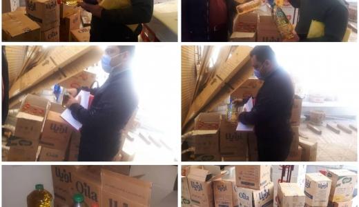 کشف روغن خوراکی احتکار شده در شهرستان شاهین شهر