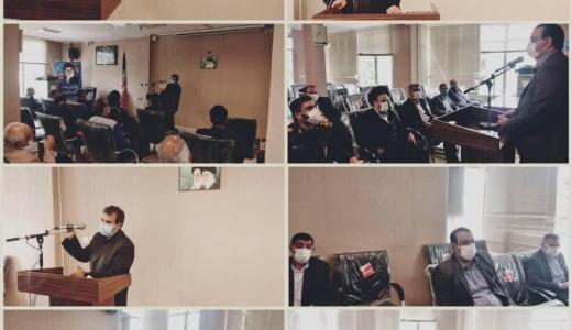 جلسه قرارگاه سپهبد شهید حاج قاسم سلیمانی در شهرستان خمینی شهر