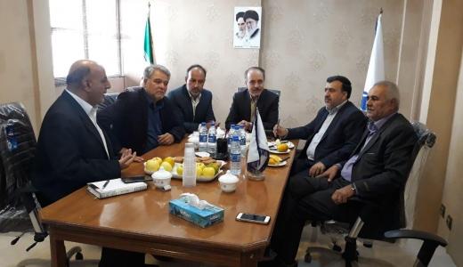 حضور مدیر بازرسی و نظارت اصناف استان در محل اتحادیه صنف پارچه فروشان اصفهان