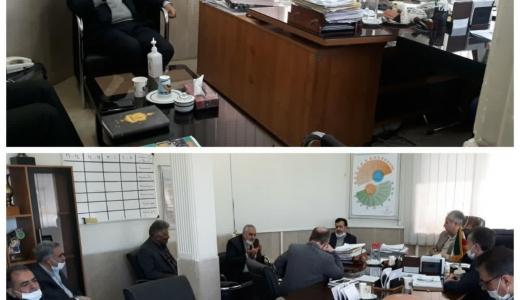 برگزاری جلسه توجیهی و بحث و تبادل نظر تعدادی از روسای اتحادیههای صنفی