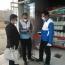 گشت مشترک و بازرسی از واحدهای صنفی عرضه کننده موادغذایی و لبنیات در شهرستان فریدن